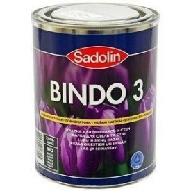 Краска для стен Sadolin Bindo 3 1 л белая