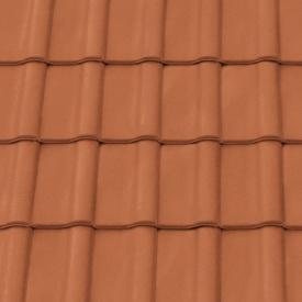 Черепица керамическая вентиляционная Tondach Румба Венгрия 300*500 мм медно-коричневая