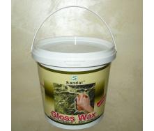 Воск защитный глянцевый Sandal Gloss Wax 1 кг
