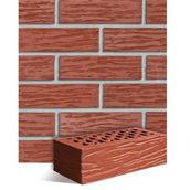 Клинкерный кирпич Roben Melbourne 240х115х71 мм красный натуральный рифленый