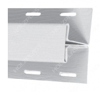 H-профиль Holzplast 3 м белый