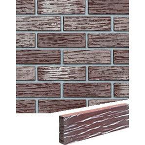 Облицовочная плитка Roben Adelajda 240х115х71 мм рифленая бургунд