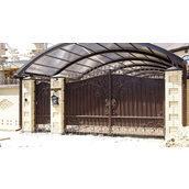 Розкривні ковані ворота