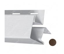 Внешний угол Holzplast 3 м темно-коричневый