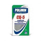 Цементная стяжка Polimin АРМ СЦ-5 25 кг