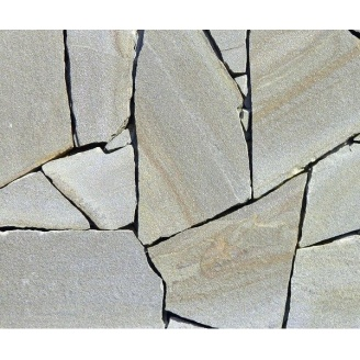 Природный камень песчаник 25 мм серый