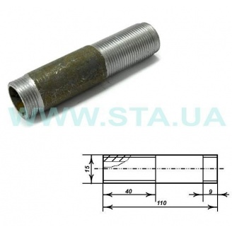 Сгон стальной С.Т.А. 15 мм
