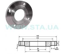 Фланец С.Т.А. плоский стальной Ру16 40 мм