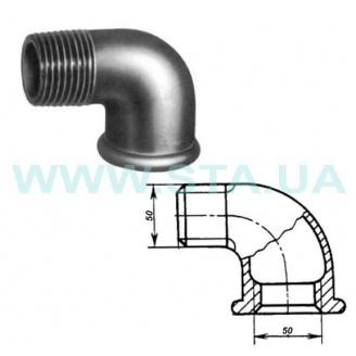 Угольник чугунный С.Т.А. В-Н 50 мм