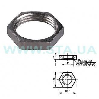 Контргайка С.Т.А. стальная 25 мм