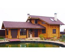 Проект гостевого деревянного дома 73 м2