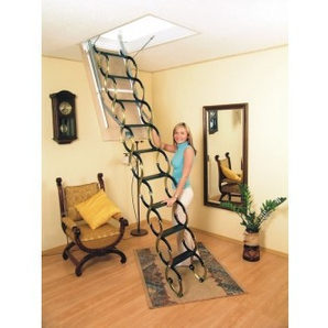 Чердачная лестница Oman Ножничная 70x70 см