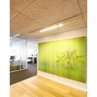 Панель з деревної вовни Troldtekt Natural Wood K5 600x1200x25 мм