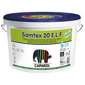 Краска интерьерная латексная Caparol Samtex 20 E.L.F. 2.5 л белая
