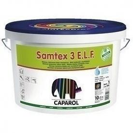 Краска интерьерная латексная Caparol Samtex 3 E.L.F. 10 л прозрачная