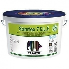 Краска интерьерная латексная Caparol Samtex 7 E.L.F. 10 л прозрачная