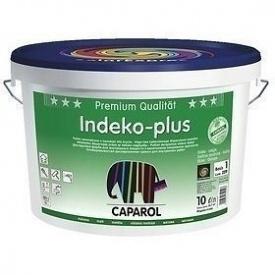 Краска интерьерная Caparol Indeko-plus 10 л белая