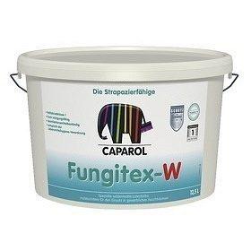 Краска интерьерная латексная Caparol Fungitex-W 120 л белая