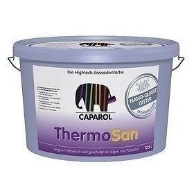 Краска фасадная силиконовая Caparol Thermosan NQG 12,5 л белая