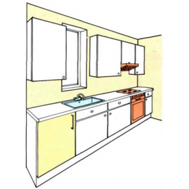 Изготовление мебели для кухни на заказ по индивидуальным размерам