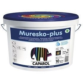 Краска фасадная дисперсионная Caparol Muresko-plus 5 л прозрачная