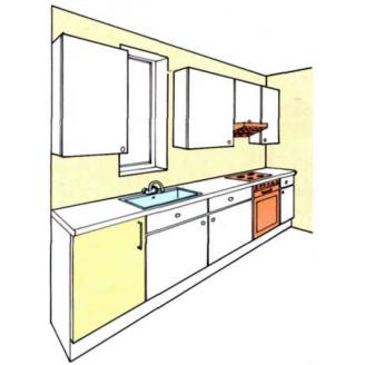 Виготовлення меблів для кухні на замовлення за індивідуальними розмірами