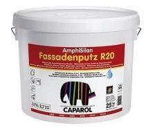 Штукатурка дисперсионная Caparol AmphiSilan Fassadenputz R 20 25 кг белая