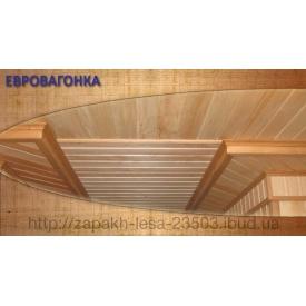 Евровагонка деревянная сосна