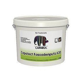 Штукатурка декоративная Caparol Capatect Fassadenputz K 30 25 кг белая