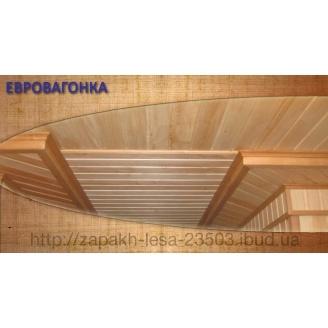 Євровагонка дерев'яна сосна
