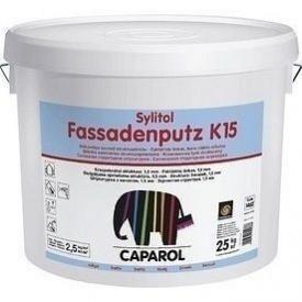 Шпаклівка дисперсійна Caparol Sylitol Fassadenputz K 15 25 кг біла