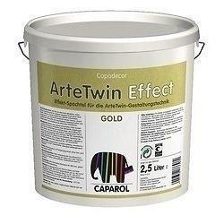 Шпатлевка Caparol ArteTwin Effect Silber 2,5 л белая