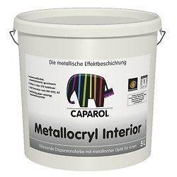 Краска дисперсионная Caparol Capadecor Metallocryl Interior 2,5 л серебряный металлик