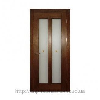 Міжкімнатні дерев'яні двері (R-027G)