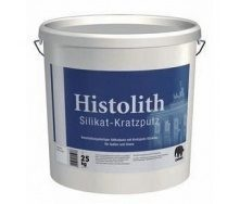 Штукатурка Caparol Histolith Silikat-Kratzputz K 15 25 кг белая