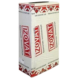 Плита изоляционная IZOVAT 110 1000х600х50 мм