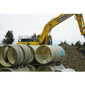 Труба стеклопластиковая HOBAS для водопроводных и канализационных сетей ф450 мм