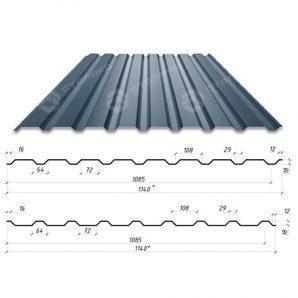 Профнастил Сталекс С-18 1140/1085 мм 0,4 мм PEMA Украина (Металлы и Полимеры)
