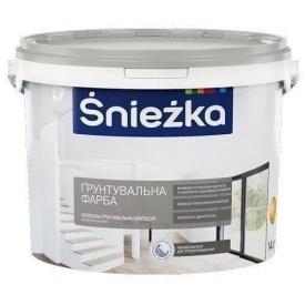 Латексная эмульсия Sniezka Grunt 5 л белая