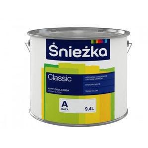 Акриловая краска Sniezka Akrylowa - Baza 1 л белая