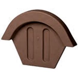 Заглушка конька VILPE TIILI коричневая 32