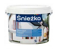 Акриловая краска Sniezka Standart fasad 4,2 кг белая