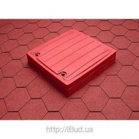 Кровельный люк VILPE HUOPA 963х963х160 мм красный
