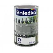Хлоркаучуковая эмаль Sniezka база B и C 9 л белый