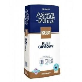 Гіпсовий клей Sniezka Acryl-putz KG 31 5 кг кремовий
