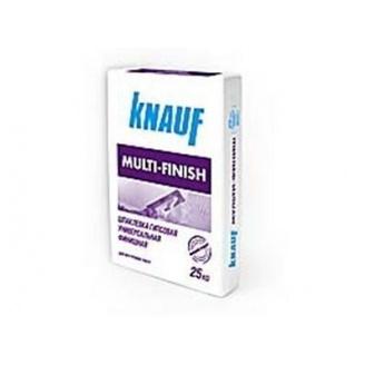 Шпаклевка гипсовая Knauf Multi-finish 25 кг