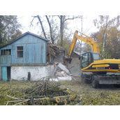 Демонтаж заміського будинку