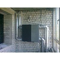 Установка припливно-витяжних агрегатів з рекуперацією тепла в квартирі