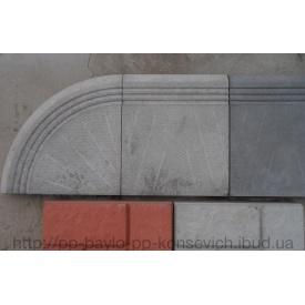 Тротуарна плитка бетонна Ступень