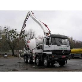 Оренда бетононасоса на базі Mercedes